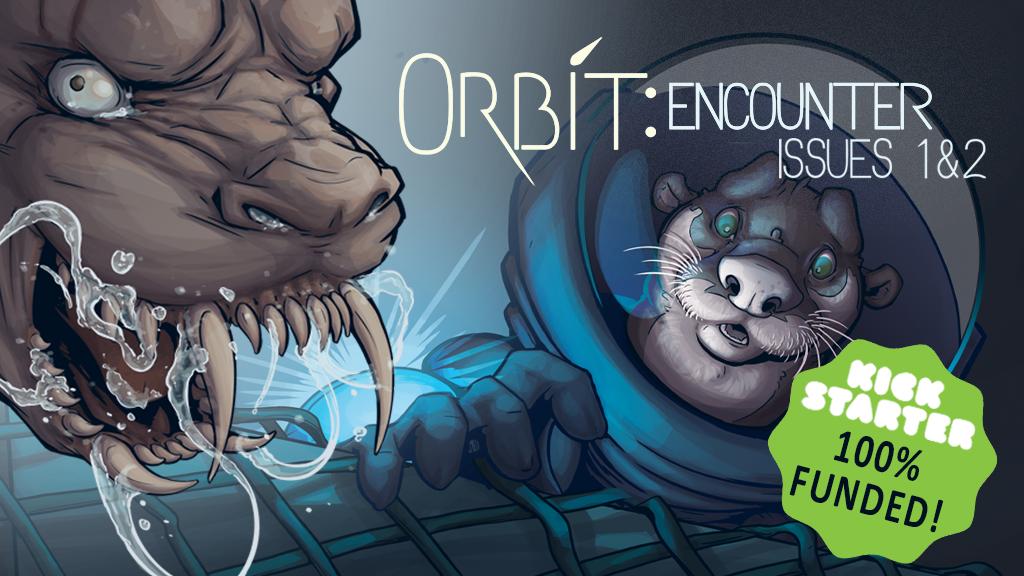 Orbit: encounter - Printing the Webcomic project video thumbnail