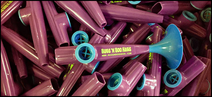 "The ""Kazoobie Kazoo"" is made by the only remaining plastic kazoo manufacturer in the United States, and they're based in Beaufort. So, we made the kazoo a power-up in the game!"