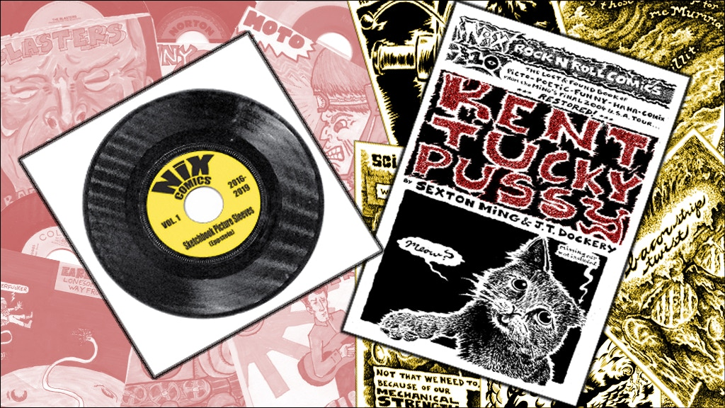 Two Nix Rock n Roll Comics releases! project video thumbnail