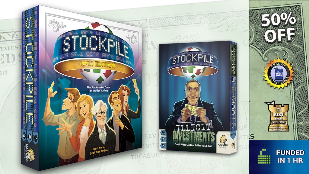Project image for Stockpile: Illicit Investments Expansion and Epic Edition