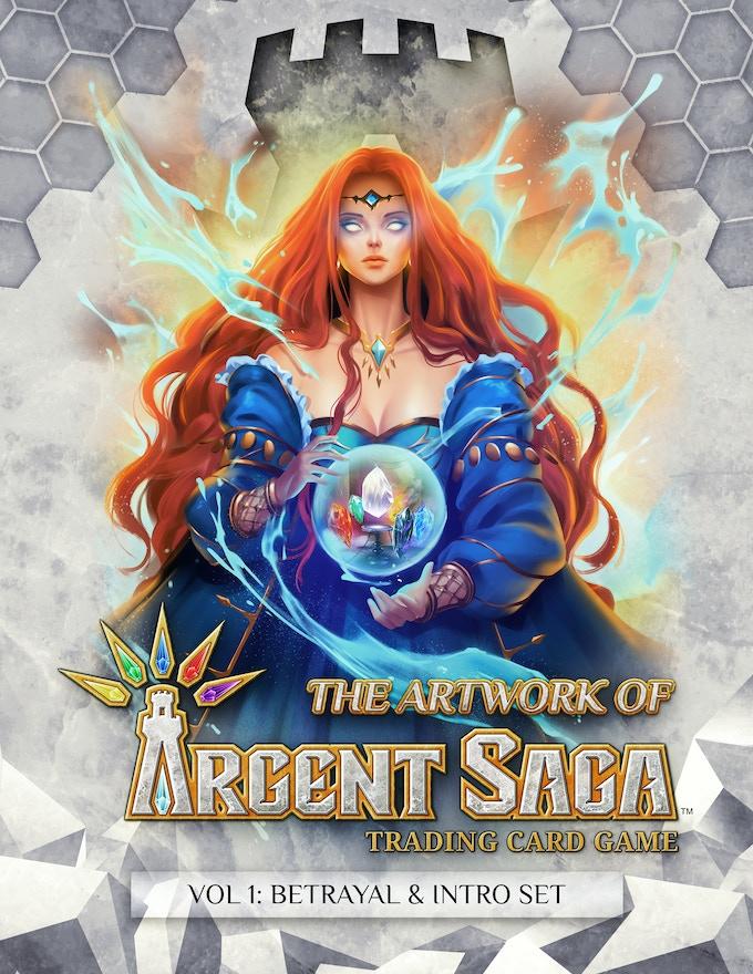 Argent Saga Art Book Cover