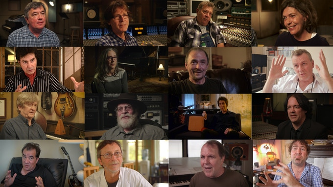 "Stills from some of our interviews. From top left: Ross Johnson (Pantherburns), Jody Stephens (Big Star), Dan Penn (Box Tops), Elizabeth Aldridge (Sister Lover), Tav Falco (Pantherburns), Marcia Clifton (Klitz), Gary Talley (Box Tops), Francis MacDonald (Teenage Fanclub), Ron Easley (Chilton solo bandmate), Swain Schaeffer (Box Tops), René Coman (Chilton solo bandmate), Jon Auer (Big Star), Johnny Jay (produced by Chilton), Doug Garrison (Chilton solo bandmate), Carl Marsh (arranger - ""Sister Lovers"") & Davis Rogan (New Orleans bandmate)."