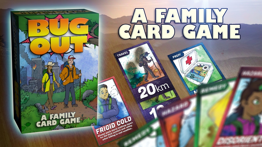 Bug Out! A Family Card Game project video thumbnail