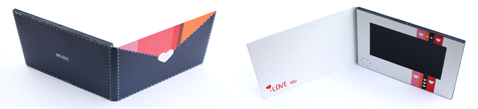Card folded and assembled into its final look.