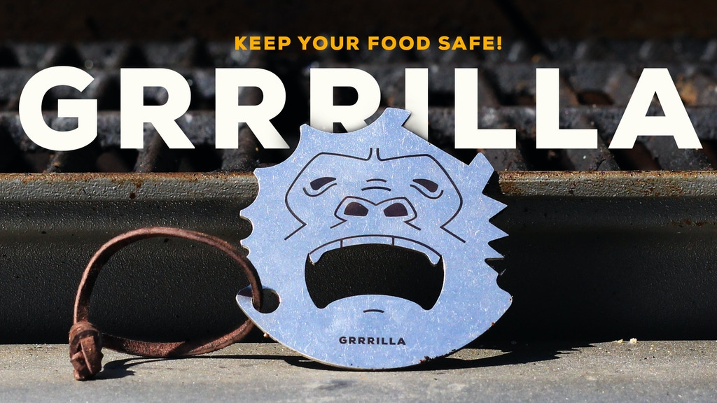 The Universal Grill Scraper - Keep Your Food Safe project video thumbnail
