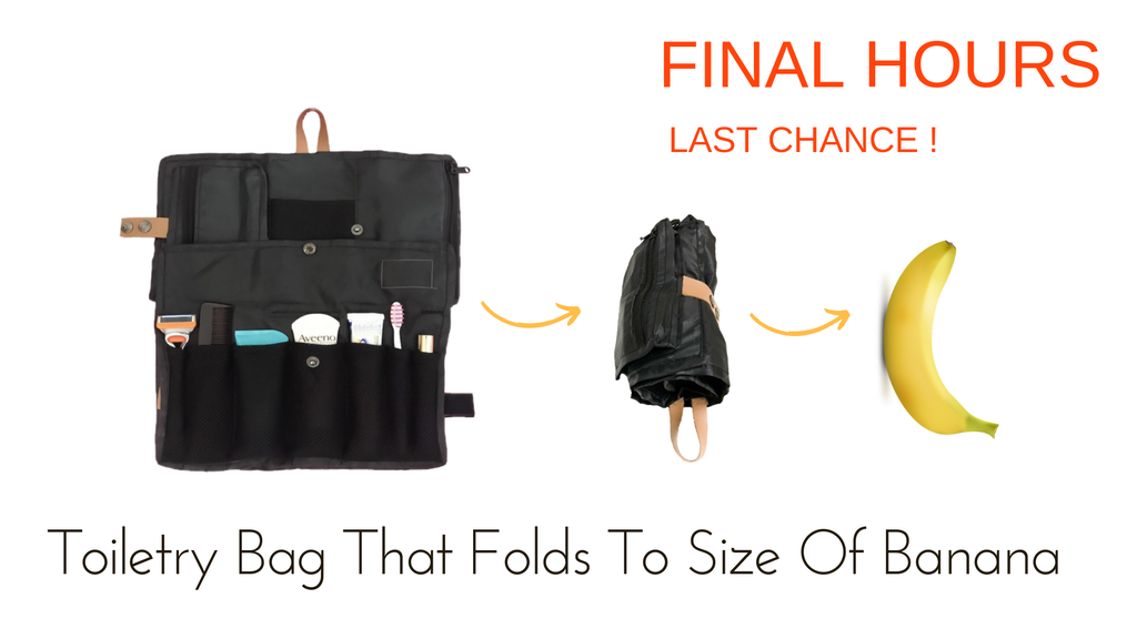 Toilo: World's Most Functional Toiletry Bag With 20 Features project video thumbnail