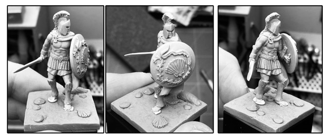 Andréhyos 32mm sculpt done by Greg Girault.