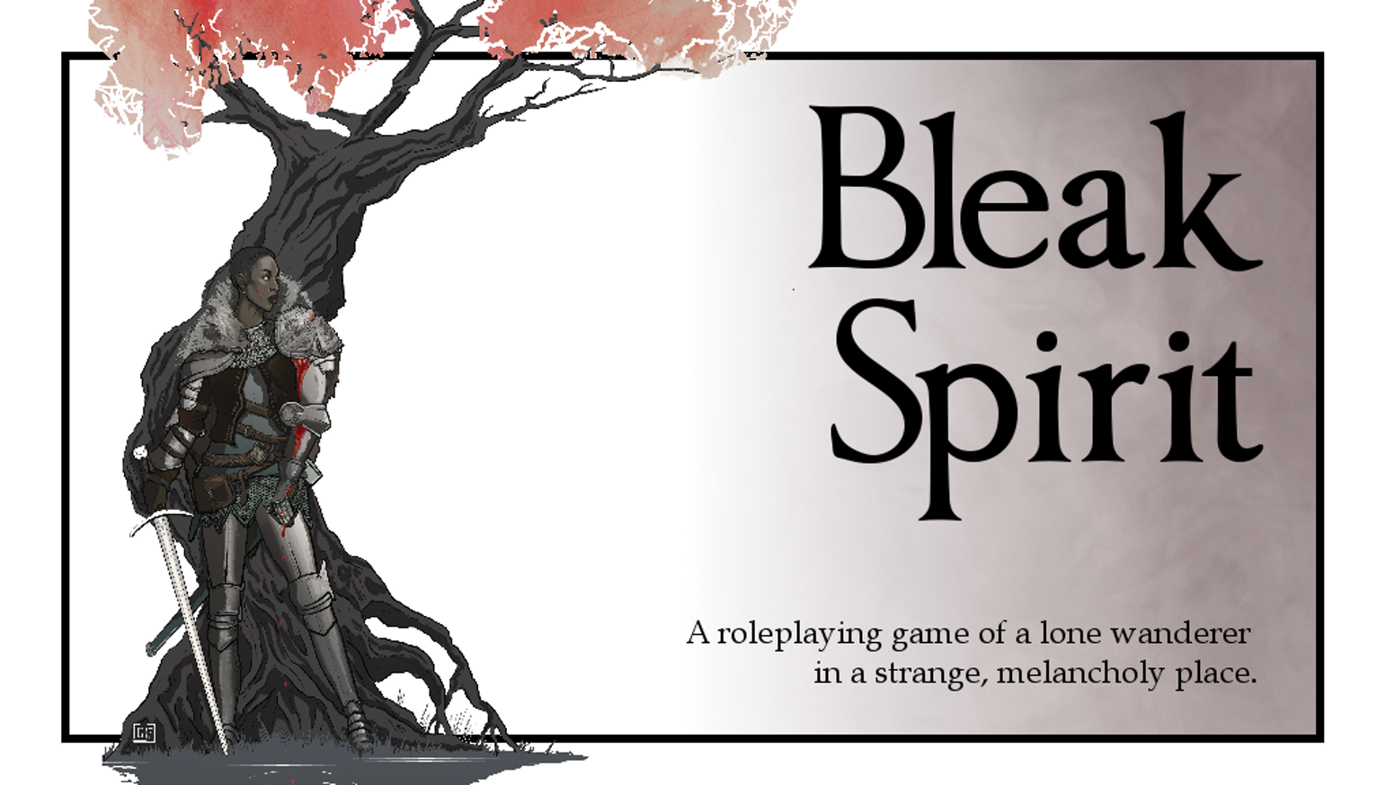 A roleplaying game about exploring dangerous, melancholy places, and discovering how they came to be that way.