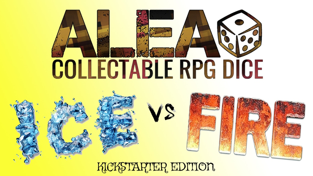 ALEA! Collectable RPG Dice: ICE and FIRE edition (Phase 01) project video thumbnail