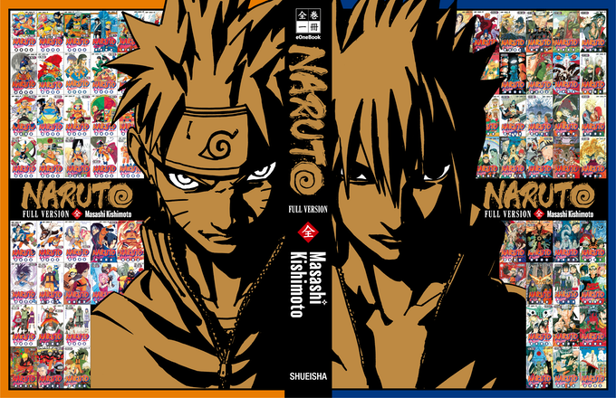 We will update the picture of the dust jacket translated into English when it's ready! (NARUTO©︎1999 by Masashi Kishimoto/SHUEISHA Inc.)
