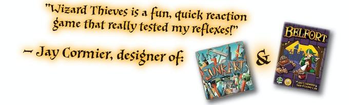 Wizard Thieves by Jeremy Rozenhart — Kickstarter
