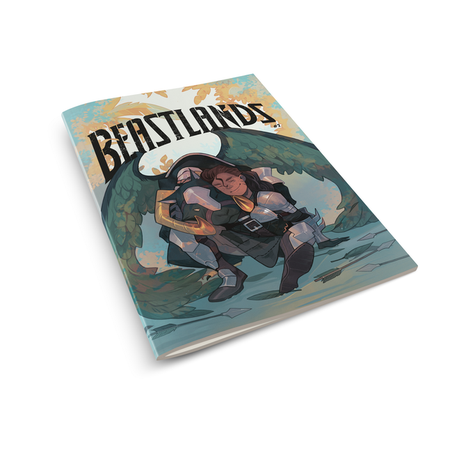 Beastlands #2 Standard/Collectors Cover