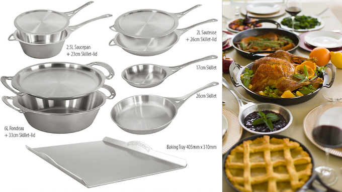 Our Australian nöni™ pans launched to date. all successfully funded and fulfilled through Kickstrater since 2017.