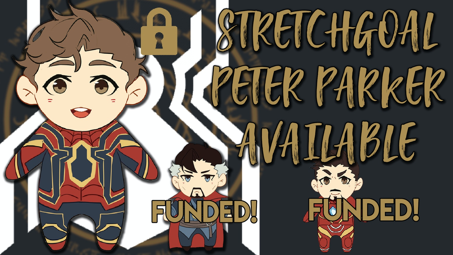 Hi! I want to produce Plushies themed after the Marvel Characters of Dr. Strange, Ironman & Spiderman