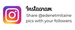 Partagez nos photos avec vos followers !