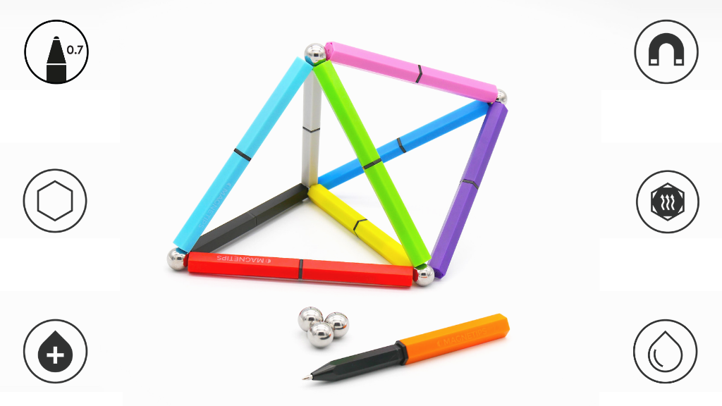 MAGNETIPS: World's most incredible magnetic gel pens