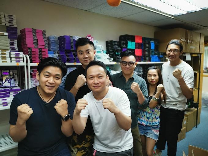 From Left: Tom Tse, Samuel Chan, Matthew Chan, Jason Lam, Suki Tong, Peter Lai (Not pictured: Hyde Wong, Corey Lee)