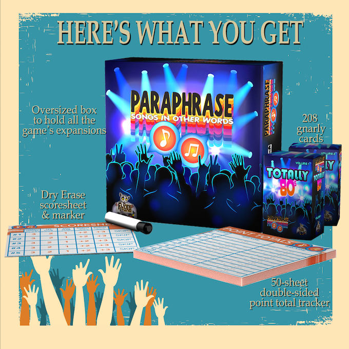 Paraphrase: Songs In Other Words by Flying Lemur Game Studio