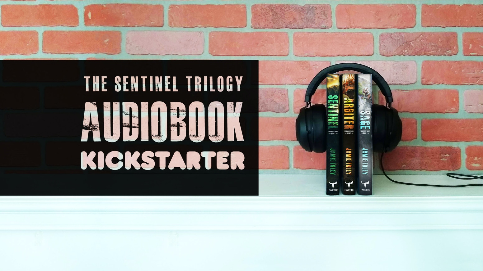 Audiobook fundraising for the first novel in an urban fantasy series, The Sentinel Trilogy.