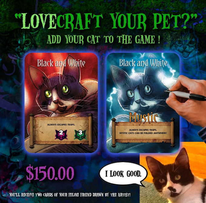 H P Lovecraft S The Cats Of Ulthar Card Game By Gilgamesh Games Kickstarter
