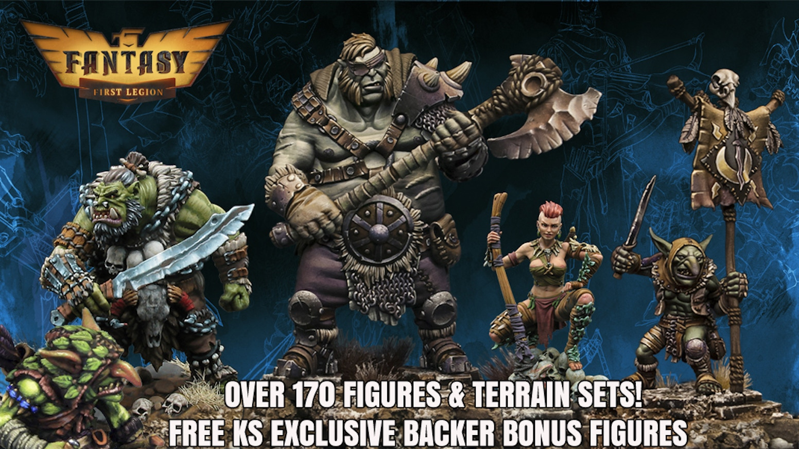 AMAZING 28MM Fantasy Miniatures.  Massive selection at incredible prices! Late Pledging Now Open!