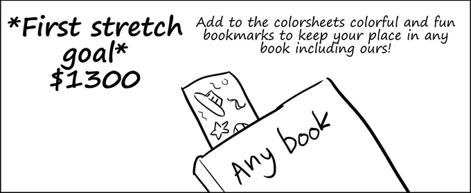 First stretch goal- bookmarks!