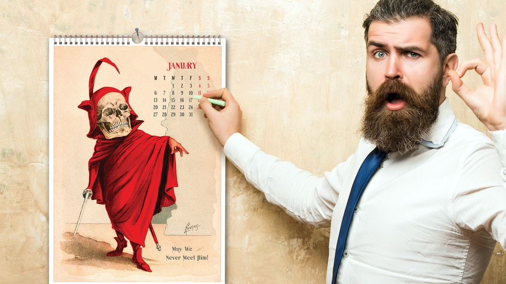 THE FUNNY BONES CALENDARS 1897-1901 RELOADED to 2020 project video thumbnail