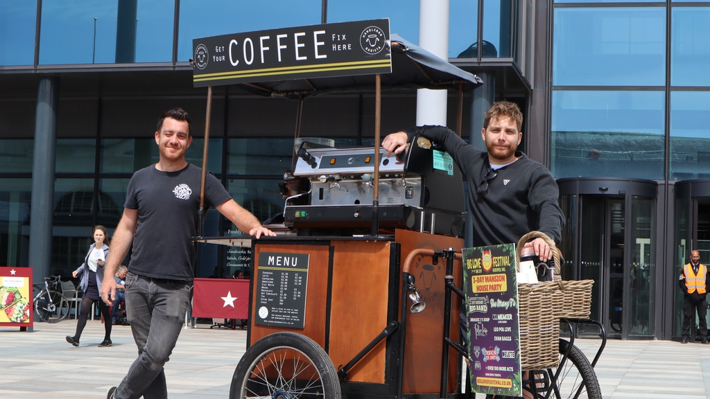 Project image for Handlebar Barista - Help us to get 'Out of the Saddle'!