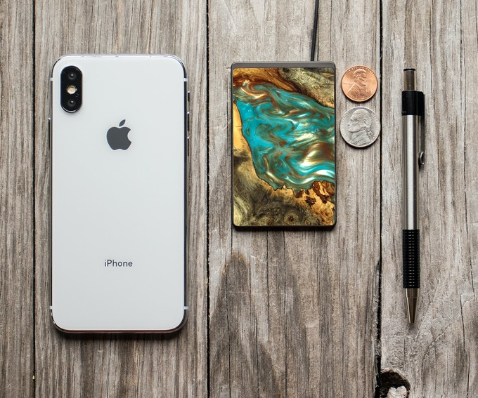 That's an iPhone Xs Max in case you were wondering.