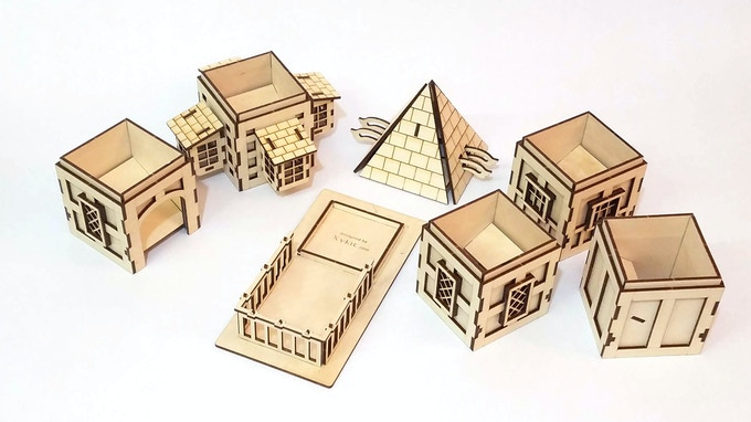 Tudor Tower Pieces