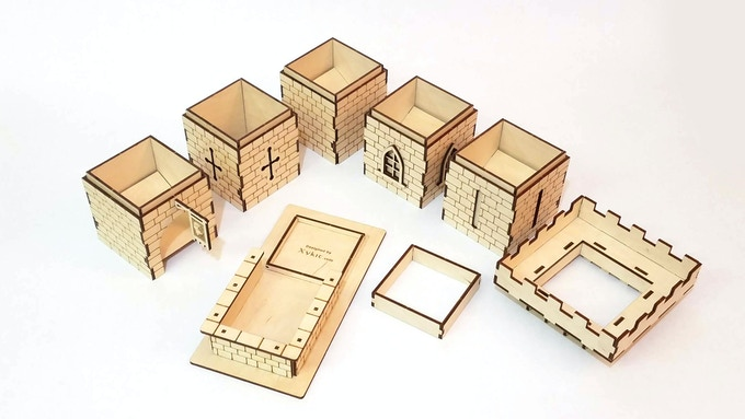 Castle Tower Pieces