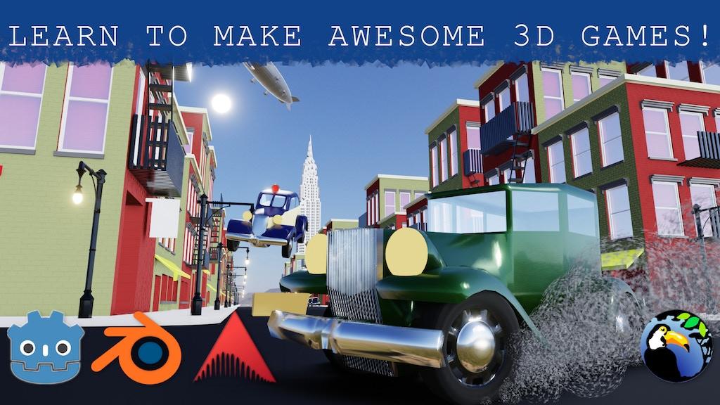 Godot Getaway: Intermediate Game-Making Tutorials project video thumbnail