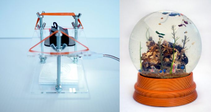 The Community Microscope Kit and the Sea Globe Kit