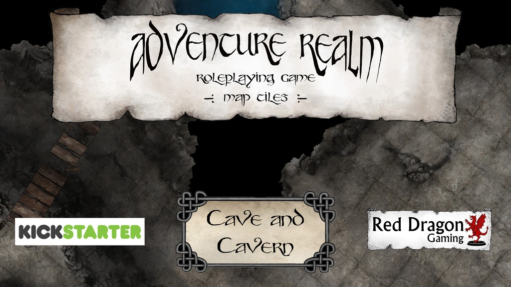 Adventure Realm RPG Tiles - Cave and Cavern set project video thumbnail