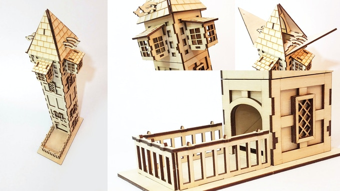 Tudor Tower Close-Ups