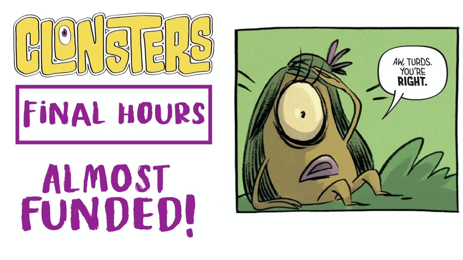 AAAHH! REAL MONSTERS meets ADVENTURE TIME! CLONSTERS VOLUME 1 is also available for the full 2 book saga of hilarity!