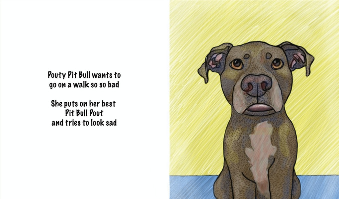 (page from The Pouty Pit Bull)