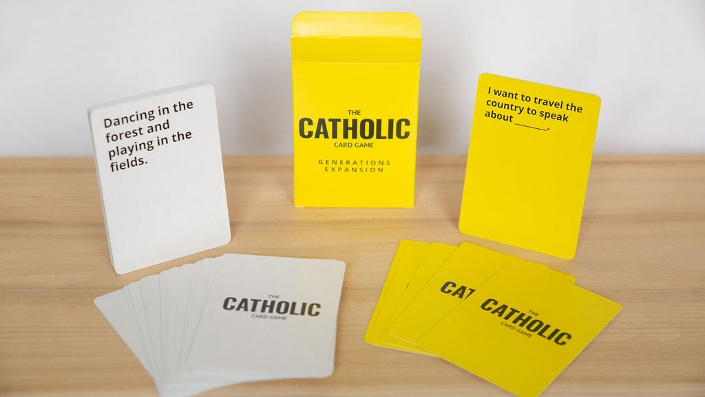 Project image for The Catholic Card Game: Generations Expansion Pack