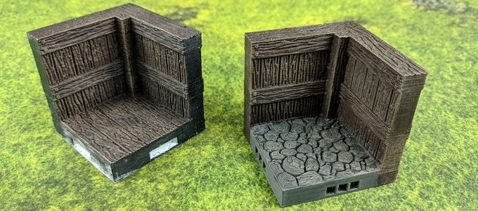 All 3 Main Sets come in with wood and stone floor versions!