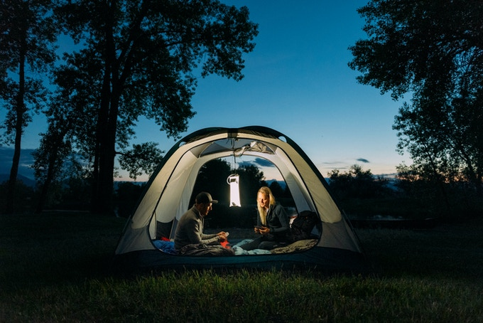 Hydrolight can light a 4-6 person tent with ease—add more Hydrolight lanterns to light a wider area.