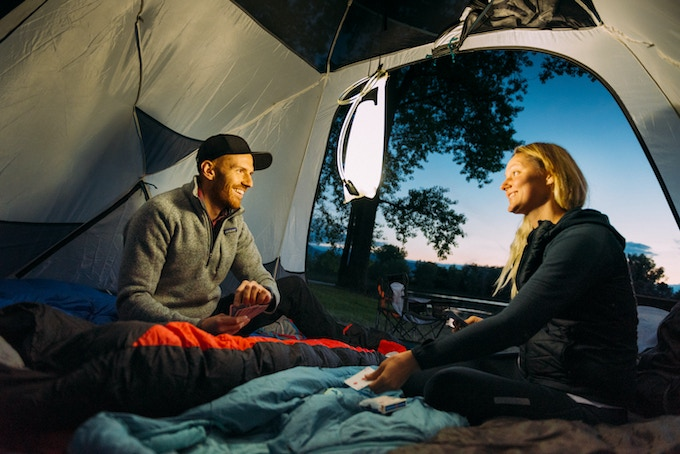 Enjoy your company without the annoying glare of a headlamp—the right gear for every occasion.