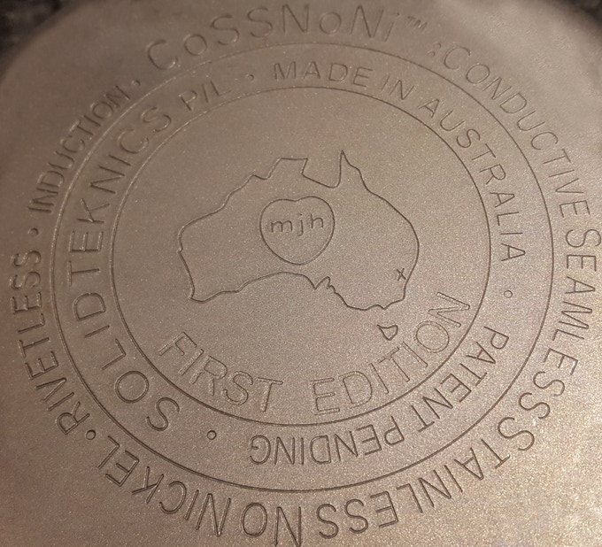 Please remember: if you don't pledge to this campaign, there is no other way to purchase a First Edition pan.   Imagine the pride of your descendants cooking with a rare, First Edition nöni™ pan, also stamped with the date of manufacture - confirmation of the long history of their family heirlooms... NOW is the time to secure your rare piece of Australian cookware history!