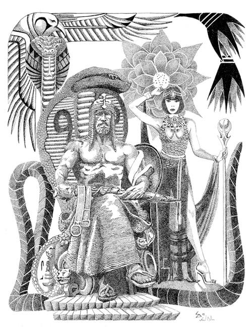 Interior illustration by Samuel Dillon