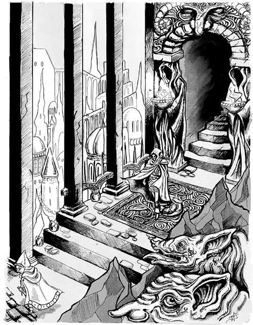 Interior illustration by Justine Jones