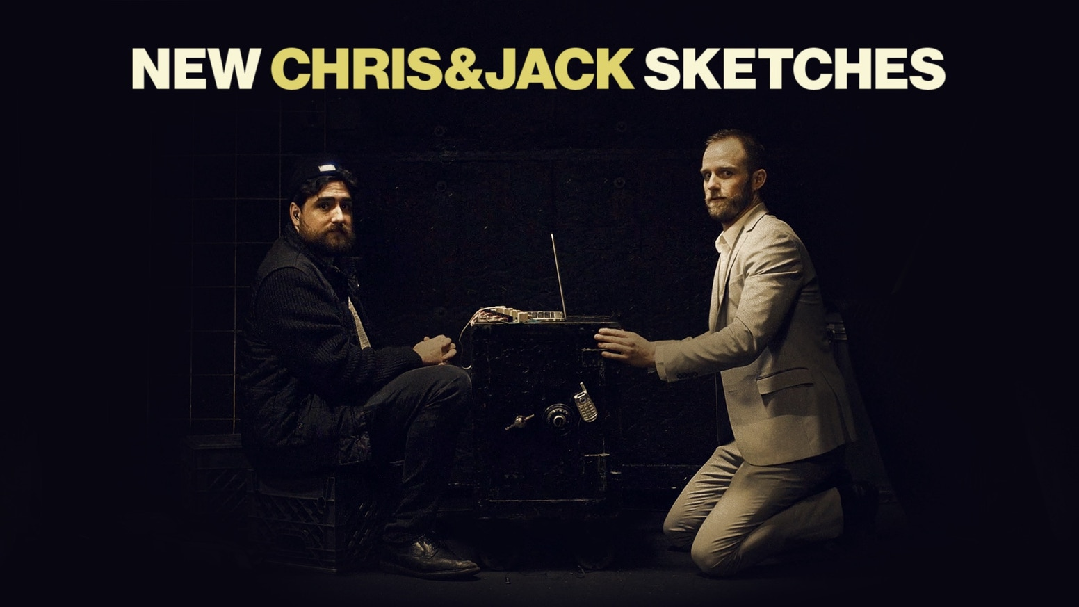 Fund a block of 6 brand new Chris and Jack sketches for Youtube.