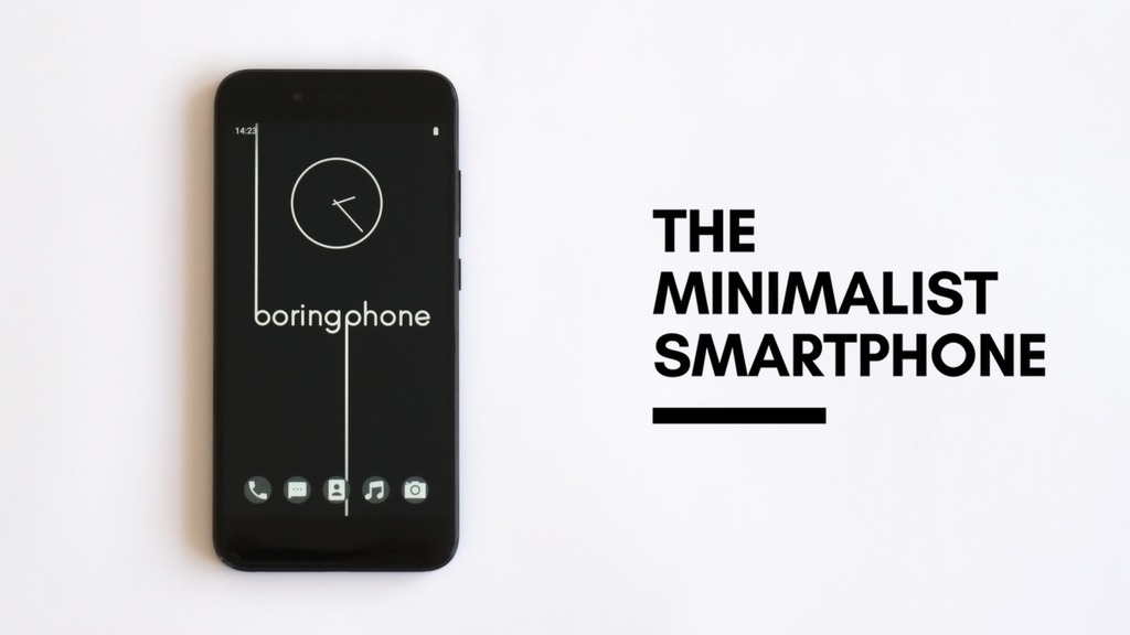 BoringPhone - The Minimalist Smartphone project video thumbnail