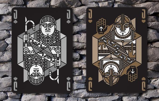 Jack of Clubs (Njondr) & Jack of Hearts (Tyr)
