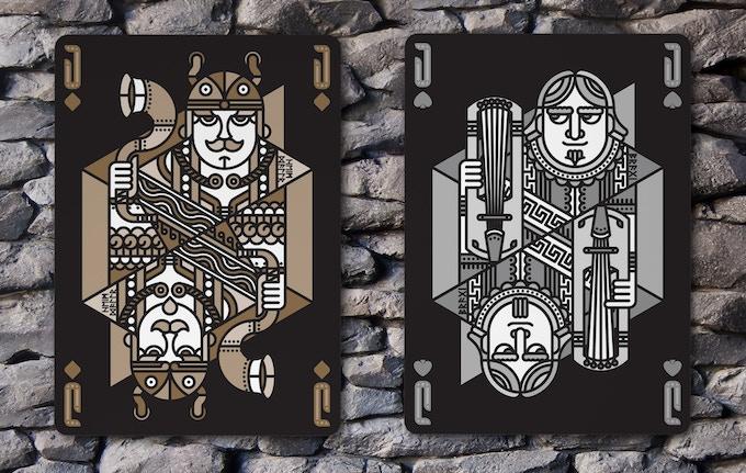 Jack of Diamonds (Heimdallr) & Jack of Spades (Bragi)