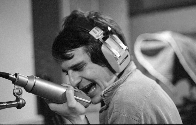 "Recording ""Like Flies on Sherbet"" at Phillips Recording in Memphis, 1978 - photo by Pat Rainer"