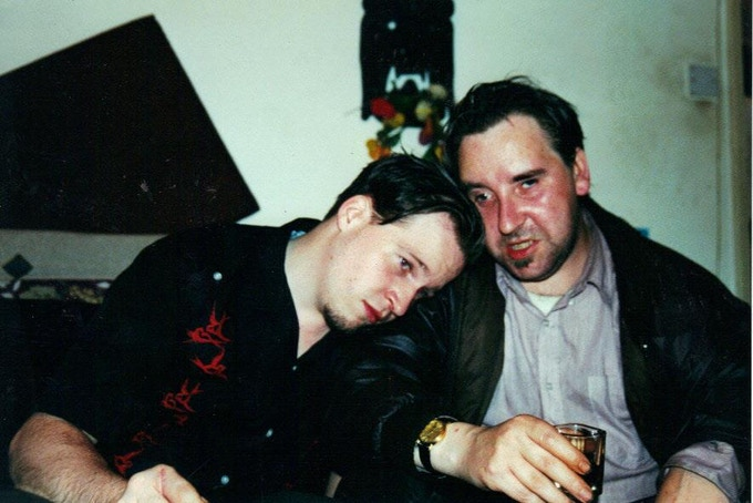 Artist (Dockery) and Author (Ming) circa 2000